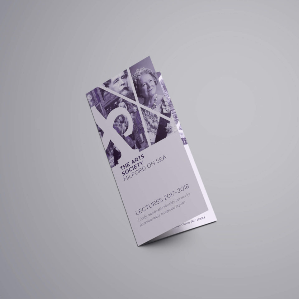 The Arts Society leaflet cover