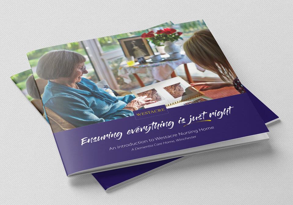 Westacre Nursing Home brochure cover