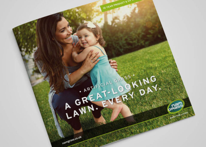 Namgrass Brochure Design Cover