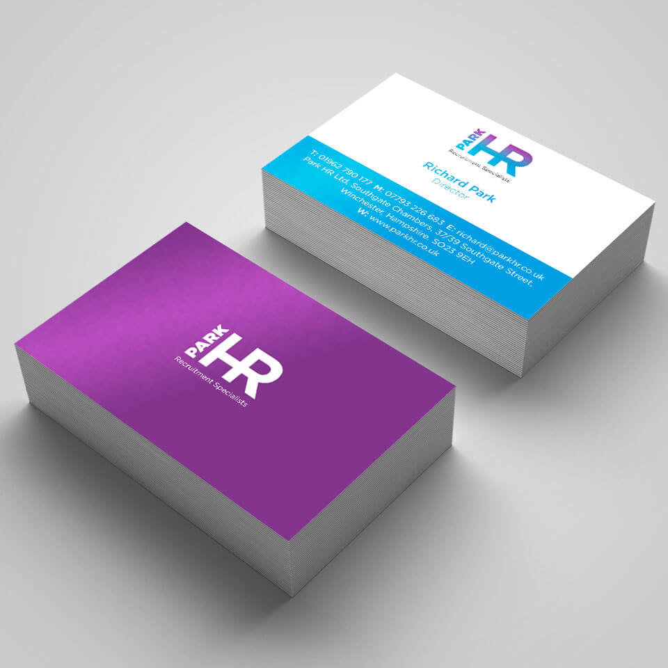 Park HR Recruitment Business Card Design