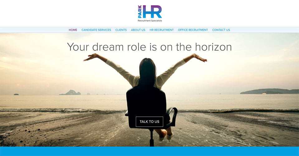 Park HR Recruitment Specialists Website