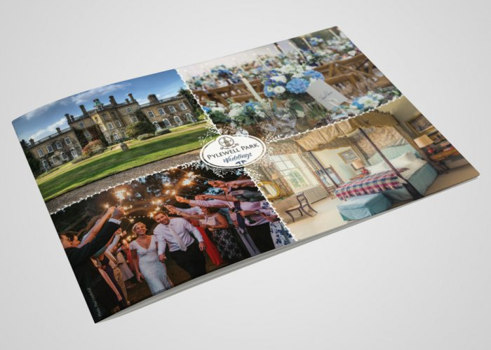 Pylewell Park Wedding Brochure Design