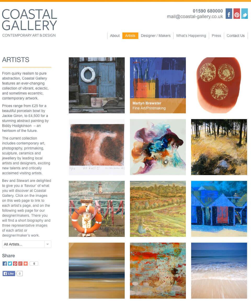Coastal Gallery Artists