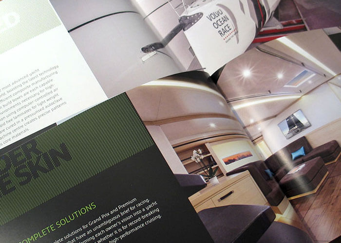 Green Marine Brochure Design
