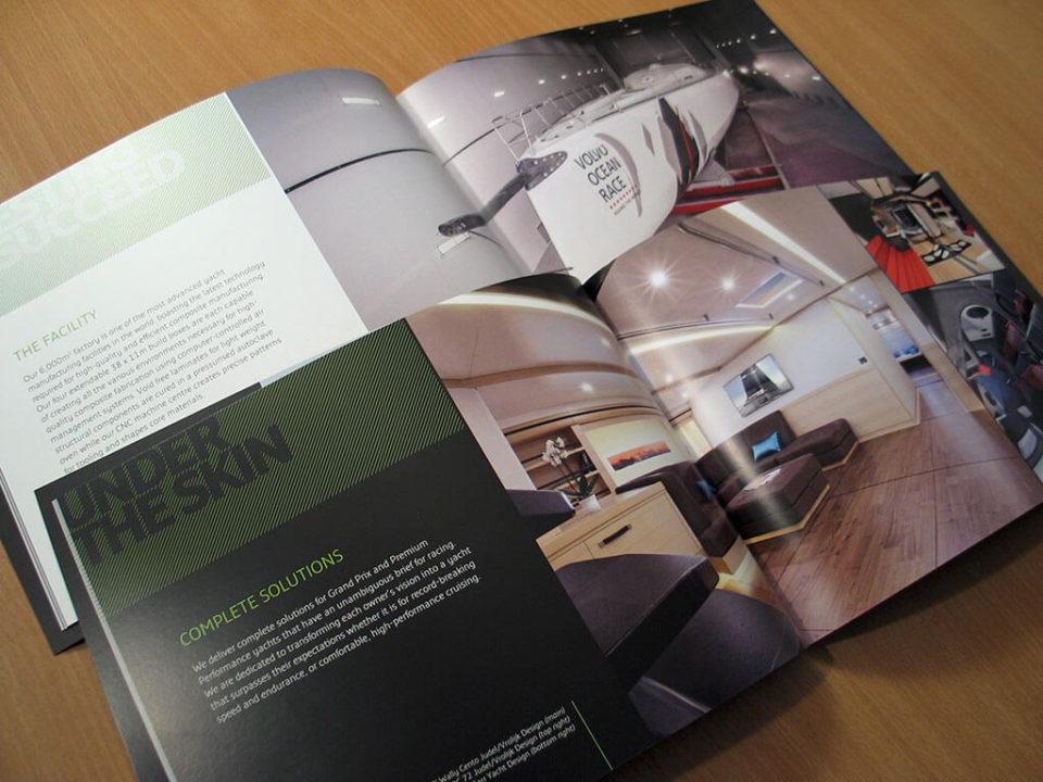 Green Marine Brochure Design