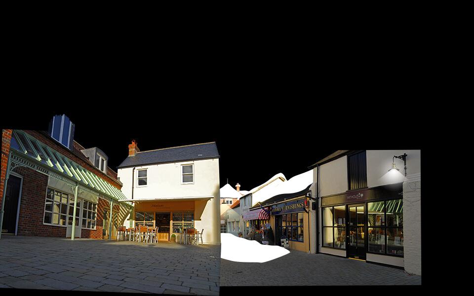 Angel Courtyard Christmas Ad Image Development 01