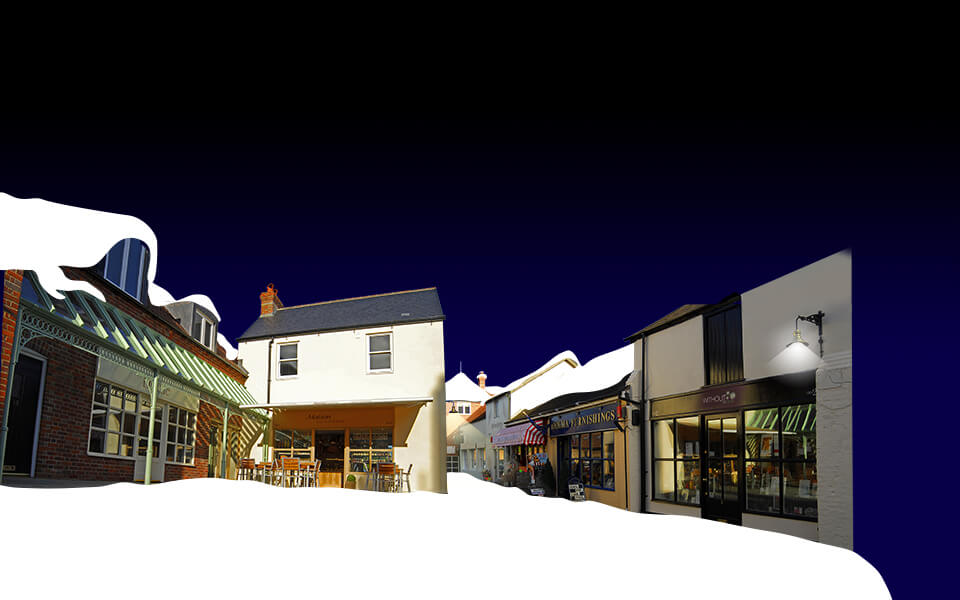 Angel Courtyard Christmas Ad Image Development 02
