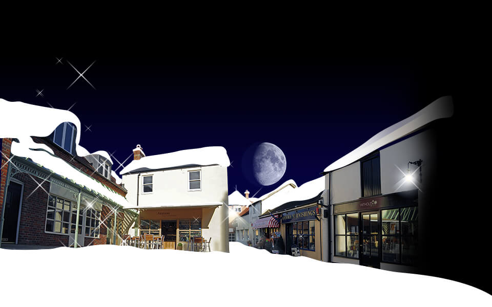 Angel Courtyard Christmas Ad Image Development 03