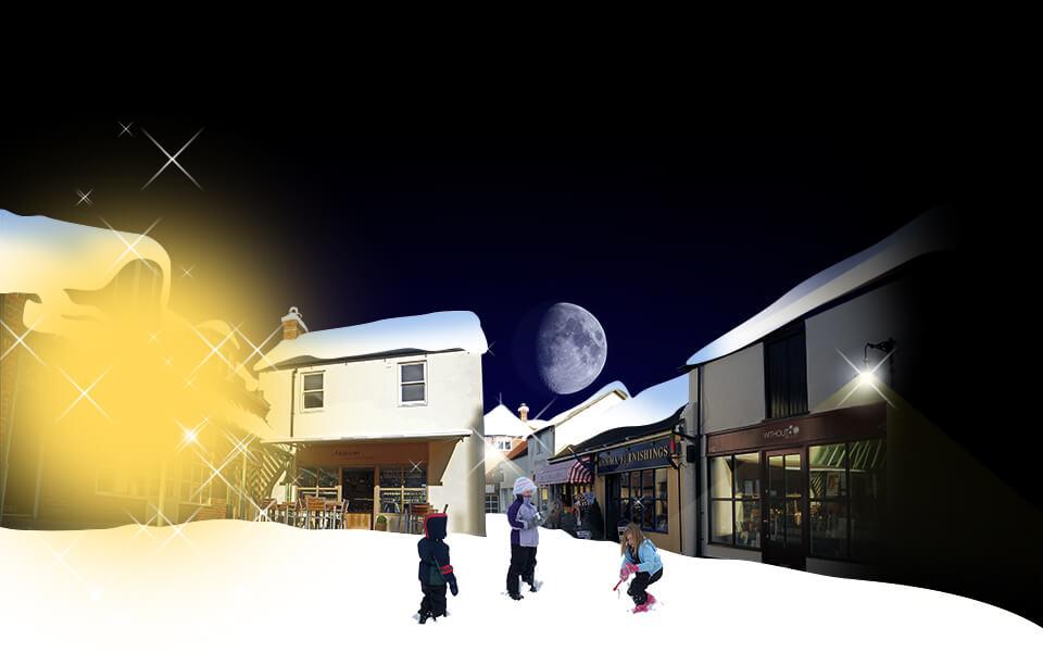 Angel Courtyard Christmas Ad Image Development 04
