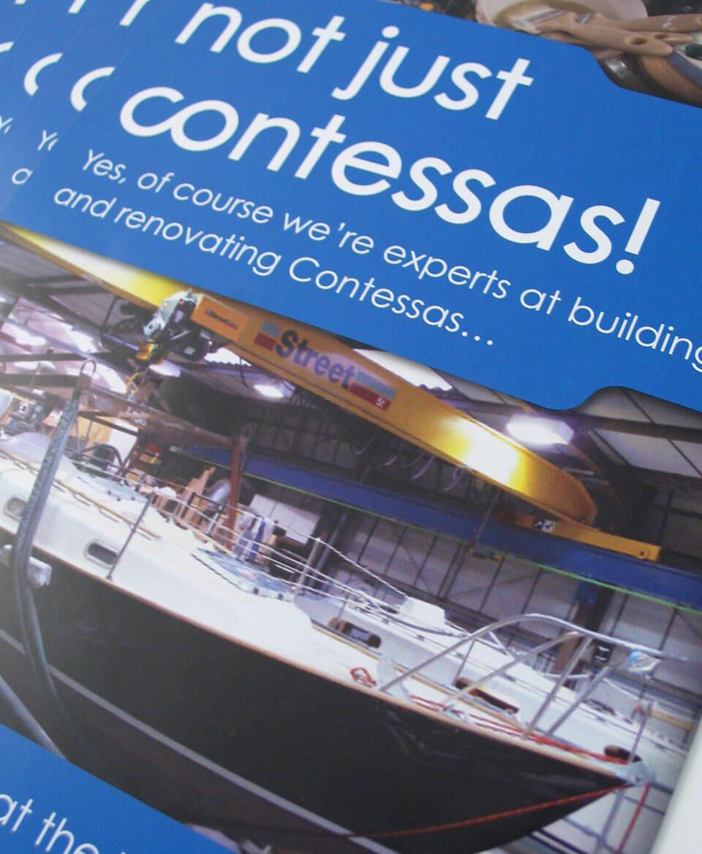 Jeremy Rogers leaflet design