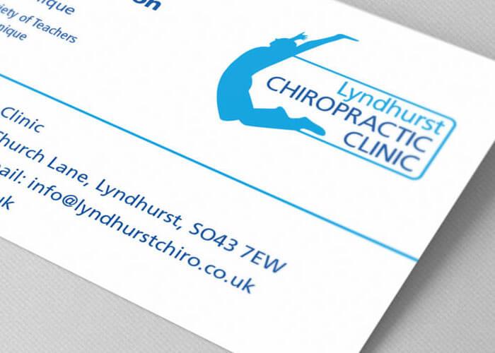 Lyndhurst Chiropractic Clinic branding