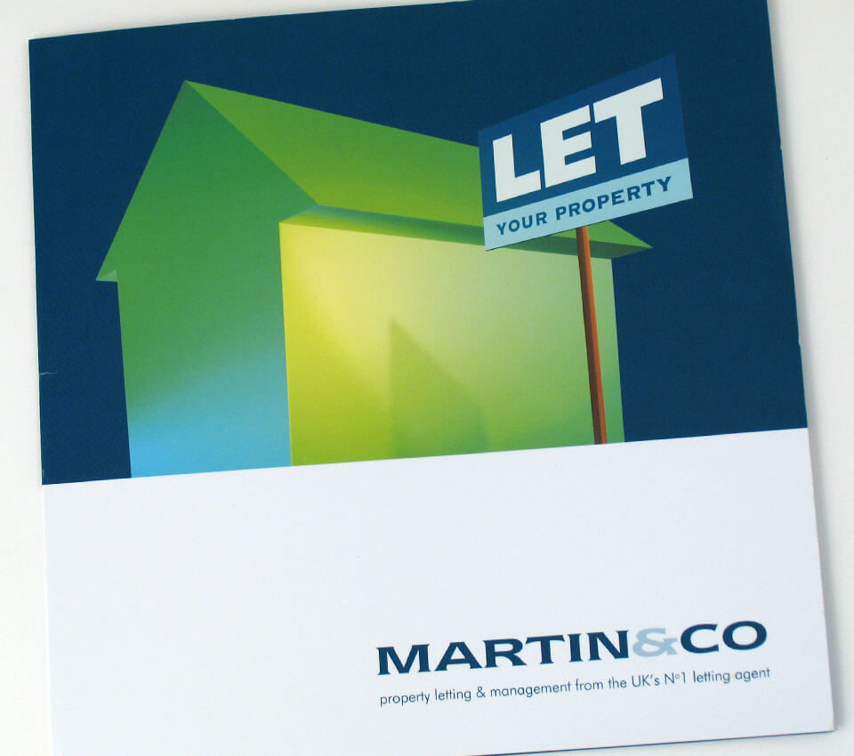 Martin & Co Letting Agents landlord brochure cover