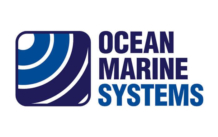 Ocean Marine Systems (OMS) logo design
