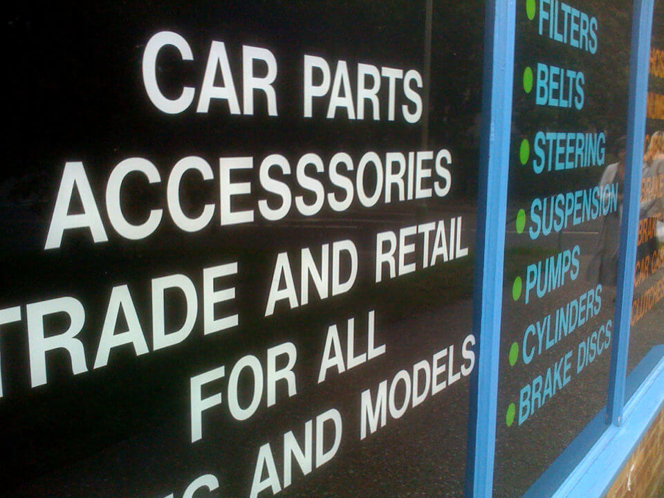 Car parts and accesssories